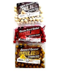 3-Day-Session-Bags-Of-Boilies-in-Assorted-Flavours-For-Carp-And-Coarse-Fishing-0