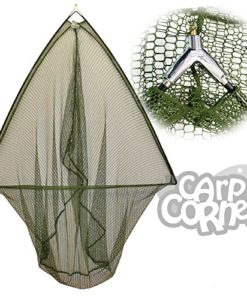 36-Inch-Green-Barbel-Pike-Carp-Fishing-Specimen-Landing-Net-With-Metal-Spreader-Block-0