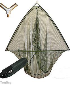 42-CARP-PIKE-FISHING-LANDING-NET-WITH-FLOAT-METAL-BLOCK-NGT-0