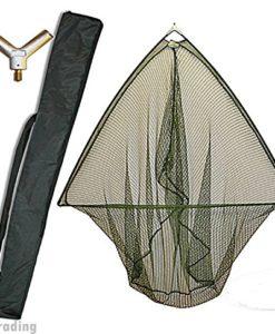 42-CARP-PIKE-FISHING-LANDING-NET-WITH-METAL-BLOCK-STINK-BAG-NGT-0