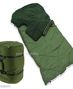 5-SEASONS-SLEEPING-BAG-MULTI-CLIMATE-CARP-FISHING-CAMPING-NGT-0