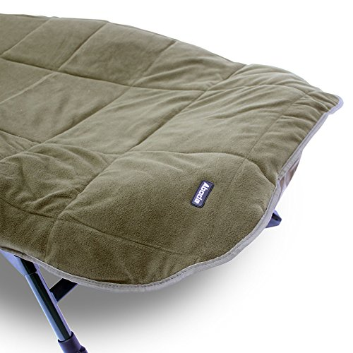 Incredible Abode Hollow Fill Quilted Fleece Bedchair Mattress Topper Carp Fishing Bed Cover Caraccident5 Cool Chair Designs And Ideas Caraccident5Info