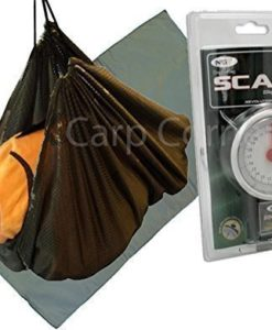 Carp-Coarse-Fishing-Care-Set-Unhooking-Mat-Weighing-Sling-And-Scales-0