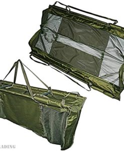Carp-Fishing-Deluxe-Floating-Floatation-Retainer-Weigh-Sling-With-Carry-Case-NGT-0