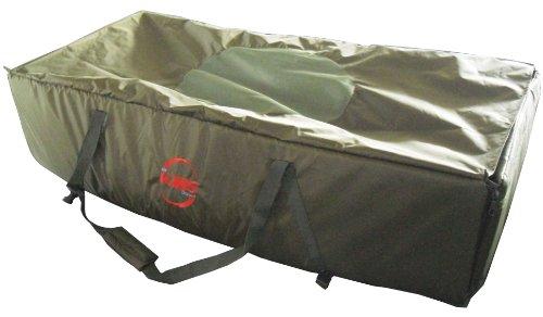 FoxHunter Carp Fishing Camping Snooze 4 Season Fleece Lined Sleeping Bag Twin Zip Dark Green With Carry Bag New