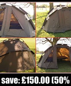 Cyprinus-2-Man-V3-Carp-Fishing-Bivvy-Shelter-Dome-for-carp-and-Coarse-fishing-with-heavy-duty-ground-sheet-0