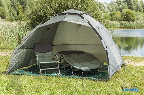 DD-Tackle-XXL-Ready-for-Use-2-Man- & Buy DD Tackle XXL Ready-for-Use 2 Man Tent 250 x 250 x 165 cm Carp ...