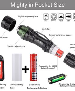 Q250 POWERFUL TORCH MILITARY GRADE LED 800 LUMENS WATERPROOF  ~ NEW IN BOX