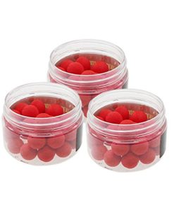 HuaYang-Round-Soft-12MM-Bead-Artificial-Carp-Baits-Fishing-Lure-Floating-Float-30PcsBox-Red-0