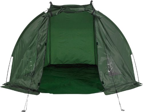 Matt-Hayes-Adventure-Fully-Waterproof-Green-Fishing-Carp-Day-Shelter-with-PVC-Windows-Groundsheet-Poles-Pegs-and-Carry-Case-25MH-125-0-3