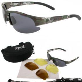 24b1d215f1 Rapid Eyewear POLARISED FISHING SUNGLASSES with Interchangeable Polarised  Anti Glare and Low Light Lenses. UV400 Protection. £59.99 ...