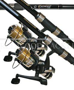 OAKWOOD-Carp-Combo-275tc-Rod-X-2-Single-Bait-Runner-Reel-With-Line-X-2-Fishing-0