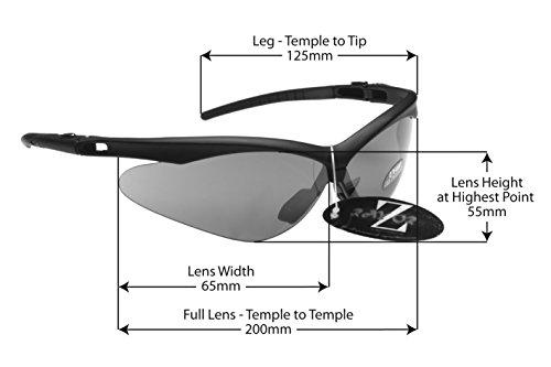 166234fa30 Buy RayZor Liteweight UV400 Black Sports Wrap Fishing Sunglasses ...