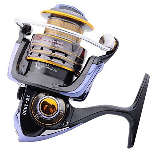 Buy supertrip tm fishing reels stainless steel spinning for Reel steel fishing